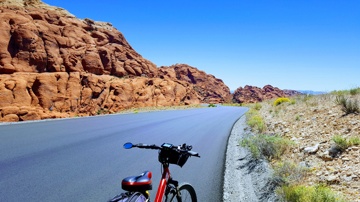 EBike at Red Rock